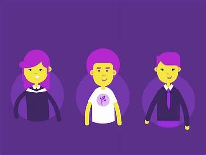 Characters Rita Global Vector Networking Network Animated