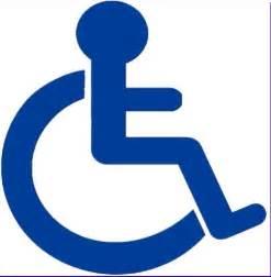 Handicap Car Sign