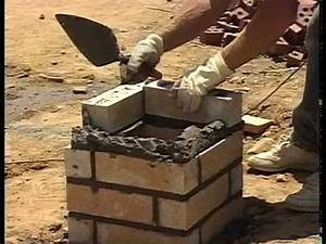 How To Lay Brick Columns And Soldier Courses YouTube