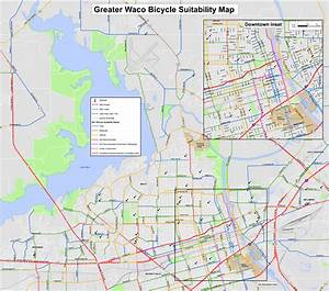 Waco and McLennan County Bicycle Suitability Maps - Waco ...