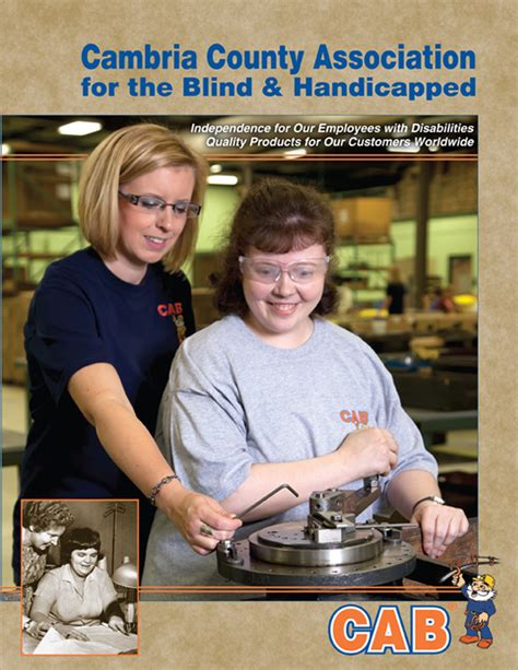 association for the blind brochures cambria county association for the blind and