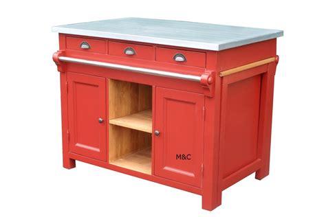 meuble de cuisine ilot central ilt central de cuisine d 39 autrefois dessus zinc