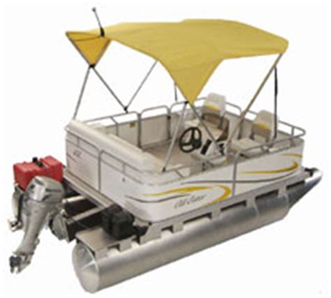 mini troline with enclosure pontoon boats gillgetter outfitter 7517