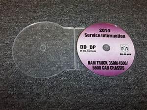 2014 Dodge 3500 4500 5500 Ram Truck Cab Chassis Shop Service Repair Manual Cd