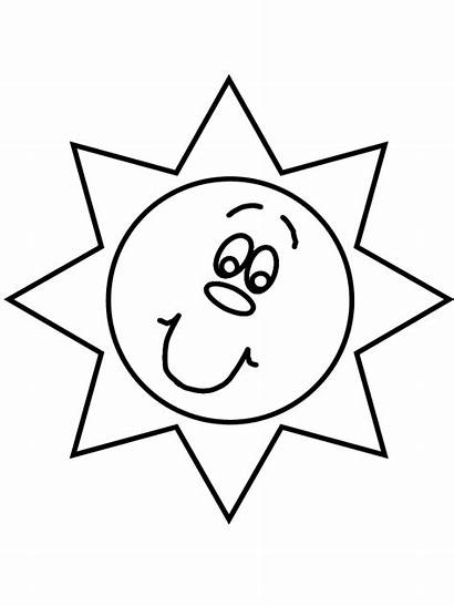 Coloring Pages Summer Sun3 Sun Coloringpagebook Printable