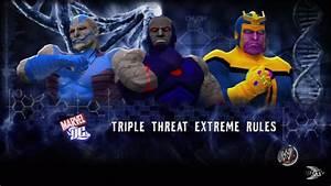 Darkseid Vs Thanos Vs Apocolypse - YouTube