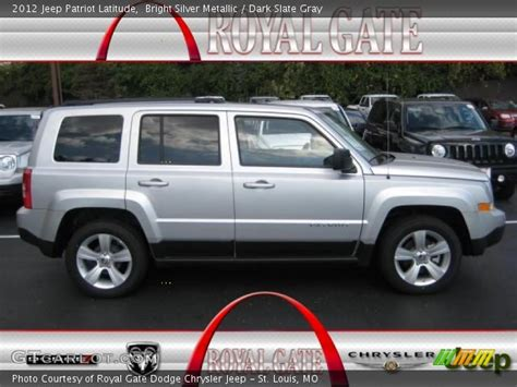 silver jeep patriot interior bright silver metallic 2012 jeep patriot latitude dark