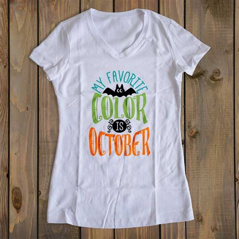 my favorite color is october my favorite color is october cut file svg eps ai dxf