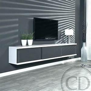 Meuble Laqué Blanc Ikea : superbe meuble tv suspendu ikea ~ Melissatoandfro.com Idées de Décoration