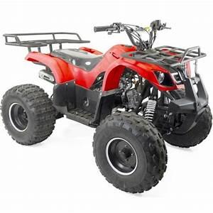 Quad 125 Yamaha : quad 125cc 4t bazou utilitaire rouge achat vente quad ~ Nature-et-papiers.com Idées de Décoration