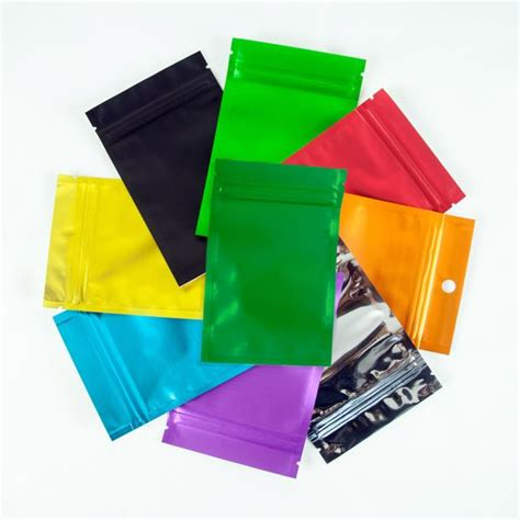 colored zip lock bags many colors for 100 clear colored foil mylar zip lock bags