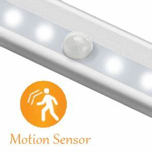 Homelife Motion Sensor Led Lights Wireless Under Cabinet Lighting Battery Operated Led