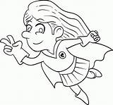 Coloring Superhero Pages Printable Sheet Cartoon Kid Popular Library Clipart Template sketch template