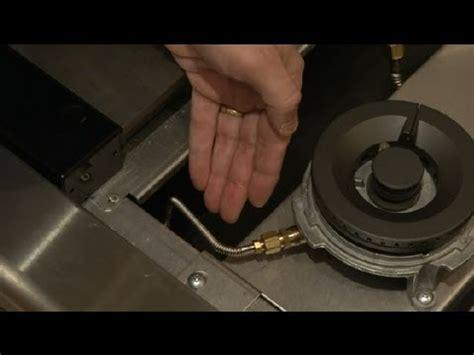 adjust  gas valve   range home appliances youtube