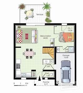 plan de maison trecobat good maison trecobat prix maison With faire un plan de maison 12 maison en bois le plan nature de trecobat
