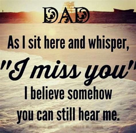 Miss You Dad Poems Daughter