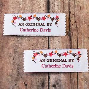 Sew on woven clothing labels fabric labels knit labels an for How to sew labels on clothes