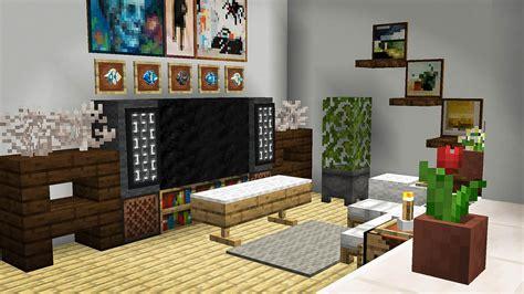 bright living room minecraft minecraft room decor