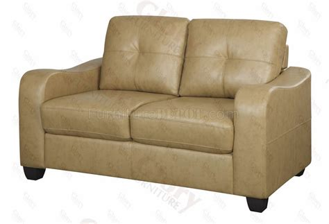 khaki reclining sofa g607 sofa loveseat in khaki bonded leather w options by