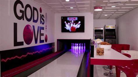 bowling alley basement video diy