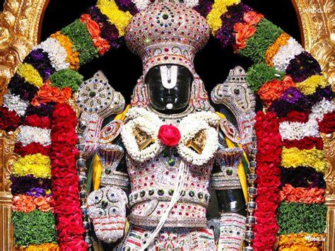lord tirupati balaji darshan hd original wallpaper