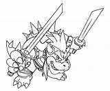 Bowser Coloring Pages Mario Dry Printable Jr Airship Giga Colouring Super Castle Kart Coloring4free Dragon Odyssey Lesson 2021 Template Koopa sketch template