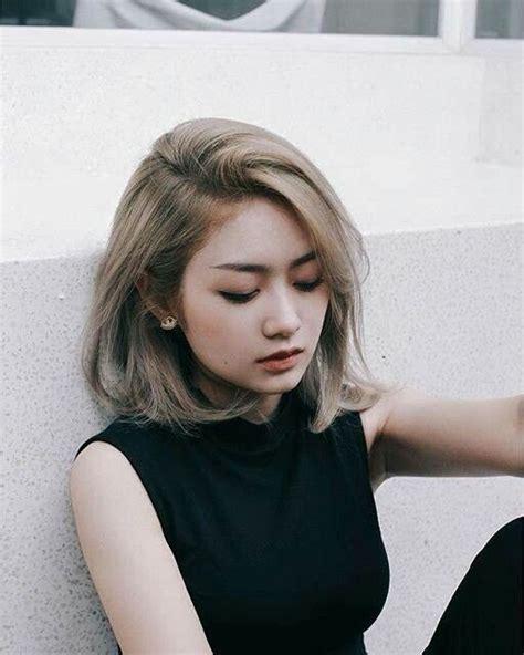 pin  jaycie keesling  hairspiration asian short hair