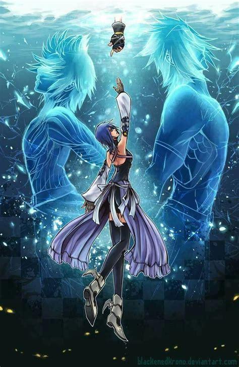 Kingdom Hearts Birth By Sleep Aqua Terra Ventus And Sora