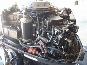 Evinrude 88 Hp Outboard Boat Motor For Sale