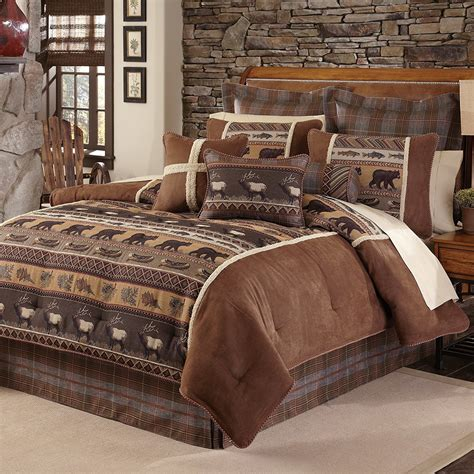 cabin bedding lodge and leaves bedding sale ease bedding with style