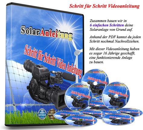 solaranlagen selber bauen anleitung runterladen