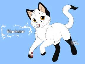cats characters warrior cats character design templates blackstar by