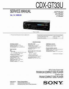 Download Free Pdf For Sony Xplod Cdx