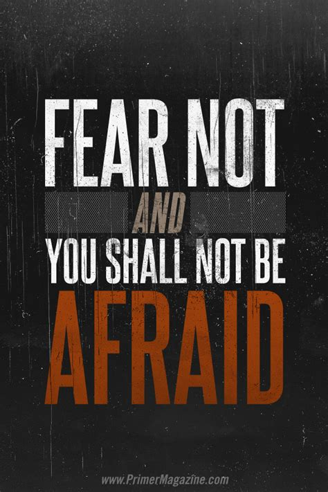 motivational monday fear       afraid