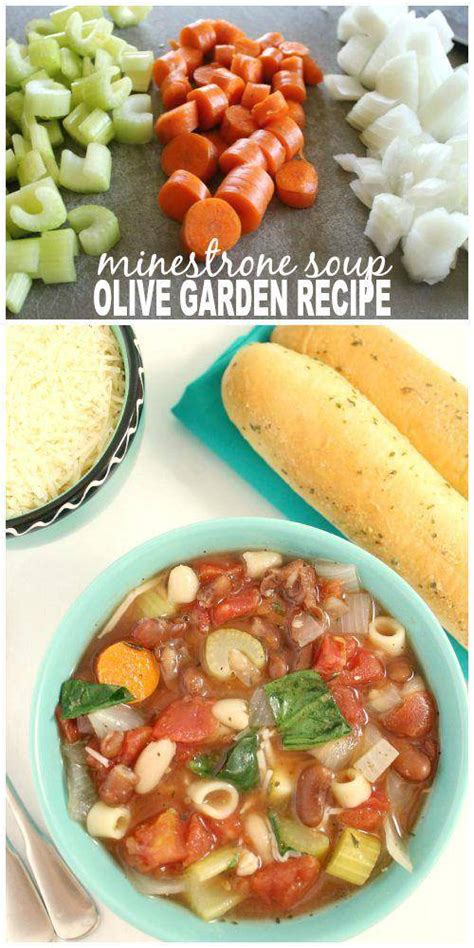 olive garden minestrone soup recipe crockpot minestrone soup copycat olive garden recipe