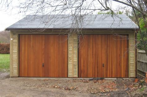 Double Garage : Warwick Garages-warwick Garage, Timber Garages