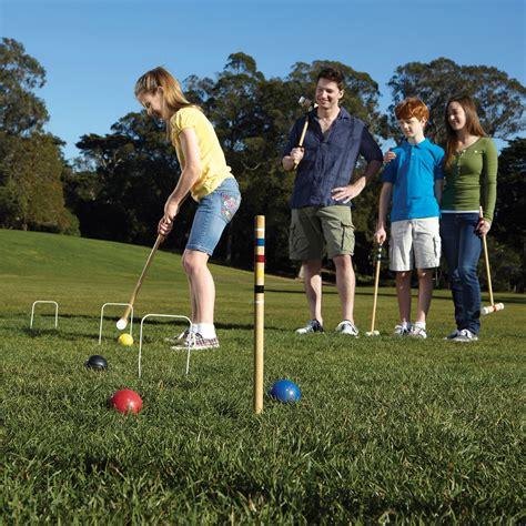 ozark trail  player croquet set