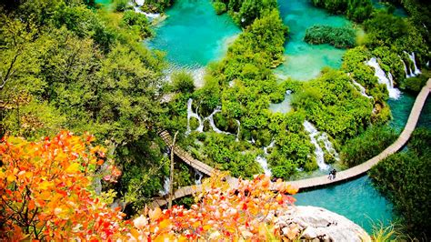 Plitvice Lakes National Park Croatia Wallpapers9