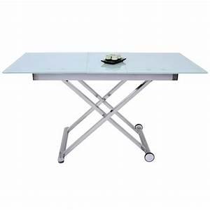 Table Basse A Roulette : table basse relevable avec allonge saturne 34 achat vente table basse table basse relevable ~ Teatrodelosmanantiales.com Idées de Décoration