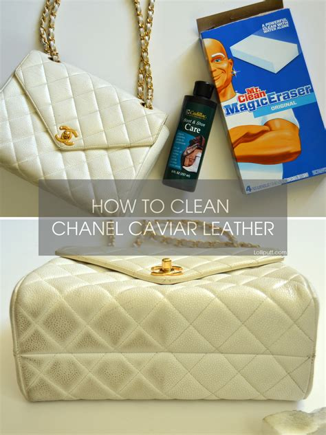 how to clean leather how to remove stains from chanel caviar leather lollipuff