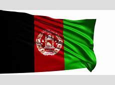 Flag Of Afghanistan Animation Loop Stock Footage Video