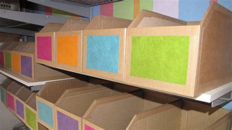 fabriquer  casier de rangement en carton