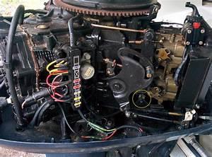 1996 Evinrude 88hp Spl - Remove Lower Unit