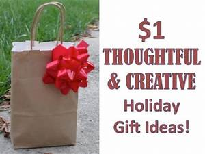 $1 HOLIDAY GIFT IDEAS