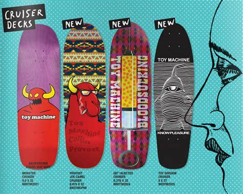 Machine Cruiser Skateboard Decks by Machine Skateboards