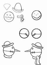 Puppet Coloring Puppets Sheets sketch template