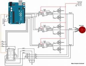 74ls192 Puter Controller 4 Dc Motors Circuit Wiring Diagram