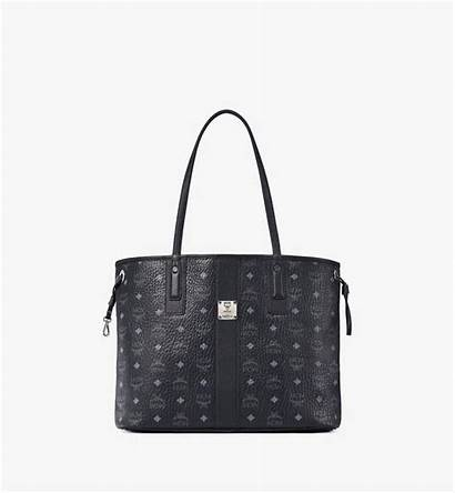 Liz Visetos Shopper Reversible Wendeshopper Mcm Bags