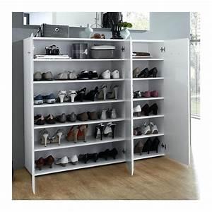 Grand Meuble A Chaussure : meuble chaussures grande capacit id es de d coration ~ Melissatoandfro.com Idées de Décoration
