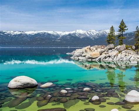 lake tahoe  october nevada united states landscape